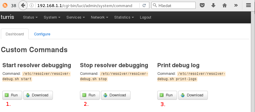 Debugging DNS problems on Turris routers [Project: Turris]